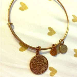 Alex and Ani Rose Gold Aunt Bracelet